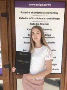 Наша випускниця - абітурієнтка 2018-го року