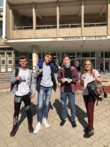 Студенти технічного університету в Кошіце отримали студентські квитки ще до початку навчання з допомогою куратора Slovak Education