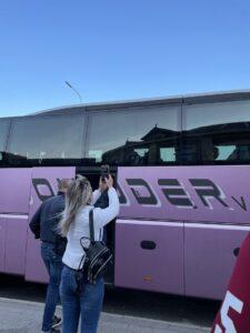Збори студентів перед від'їздом в Словаччину